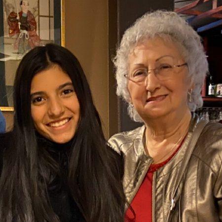 Maddie Larson and her grandmother, Nancy Frederiksen