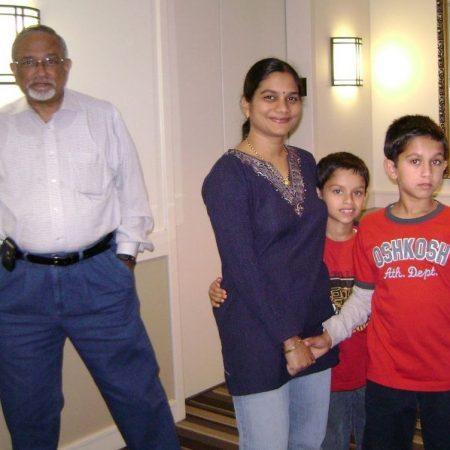 Girish Haldipur: Family and Life of an Indian American