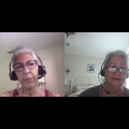 Rosemary Closson and Frances Landrum: If it were not for the Baha'i Faith we never would have known each other.