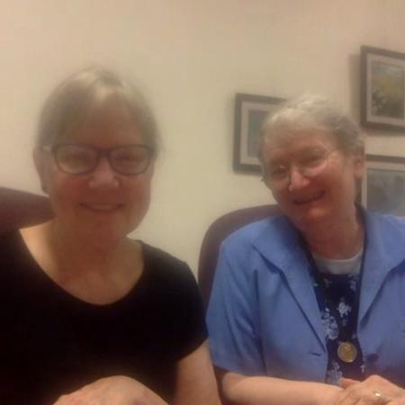 Sister Mary Forman and Sister Kim Jordan