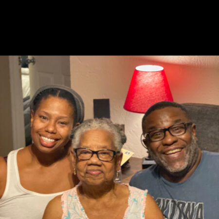 Interview with Dorothy Wilson (88) by Richard (50) and Kim (45) about her life.
