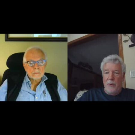 James Del Balso interviews Bruce Twomey, Brookfield, WI about Bruce's life growing up in Spain and Germany