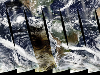 Measuring global change from satellites. An interview with Chris Potter.