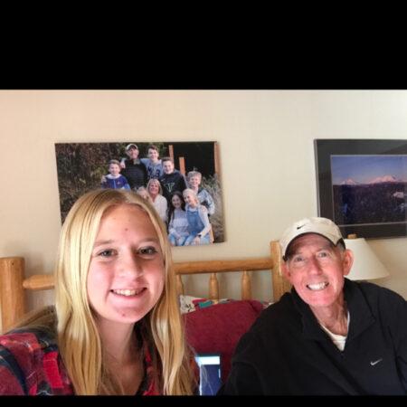 Hailey Tyacke interviews her Grandfather Tom McGuire