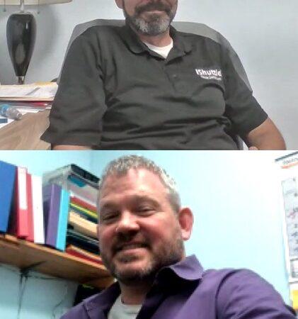 Bryan Feldhiser and Timothy Huck