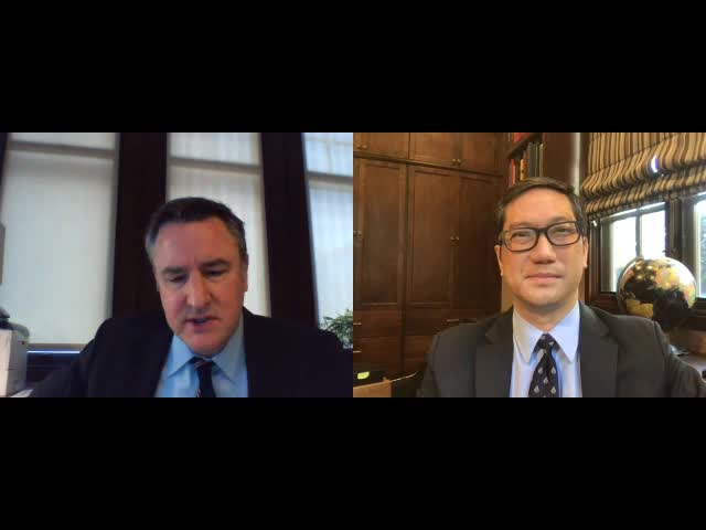 Craig Umscheid and Michael Wong Interview Each Other for the AAMC CMO Leadership Academy
