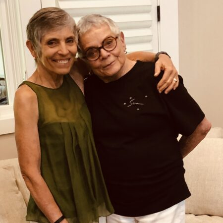 Marian Yasuda and Sally McIntosh