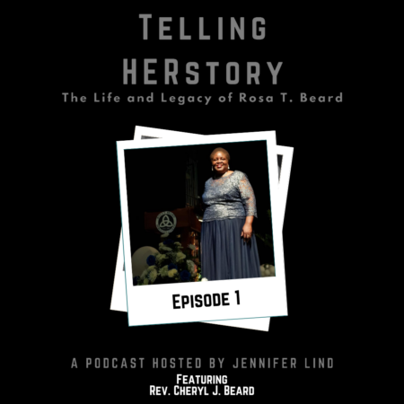 Telling HERstory Podcast Episode 1: A Mother's Love and A Story of Origins