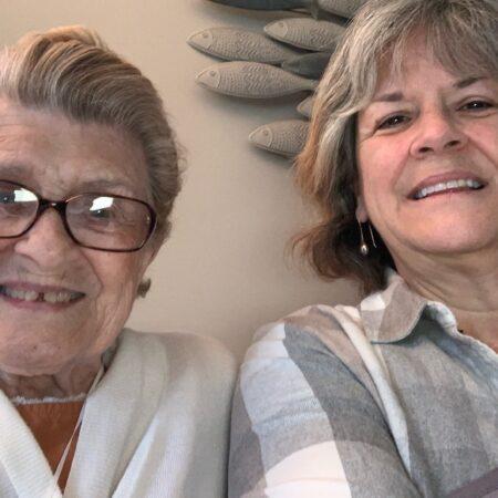 Susan Martin and Lillian Bartlett