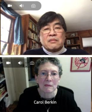 Jonathan Chu and Carol Berkin
