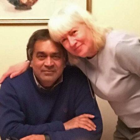 Kate Sanchez and Amol Kulkarni:  A 38 Year Old Happy Interracial Marriage