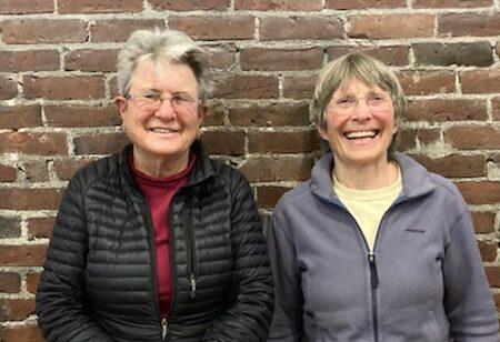 Susan St. John and Judy Powers