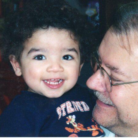 Miles Simpson and Grandpa