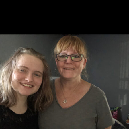 Tara Rogers, 56, interviewed by her daughter, Keeley Rogers, 17