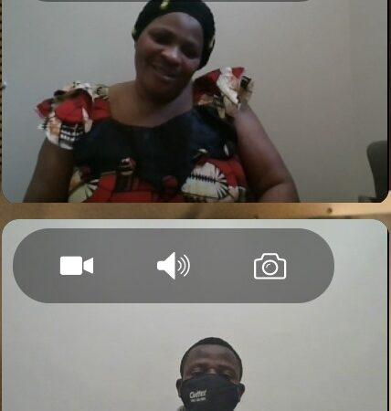 Charlotte Nyagakye and Eliya Maombi Nyagakye