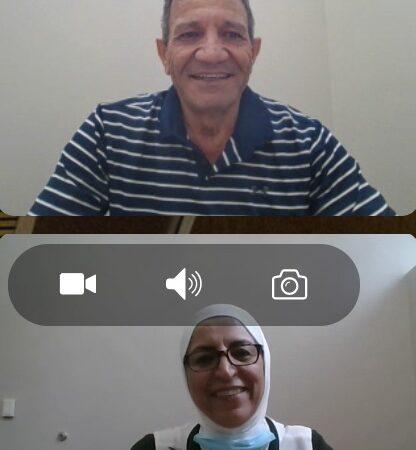 Hanaa Alasmi and Nazzal Alasmi