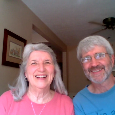 Laura Douglas and David Blevins
