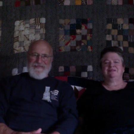 Bill Henry and Lisa Custalow