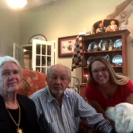 Curtis Morris, Ashley Morris, and Margaret Morris