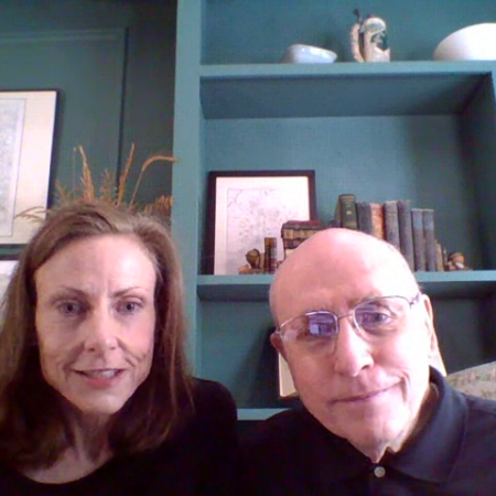 Kelly Caffarelli and Tom Russell