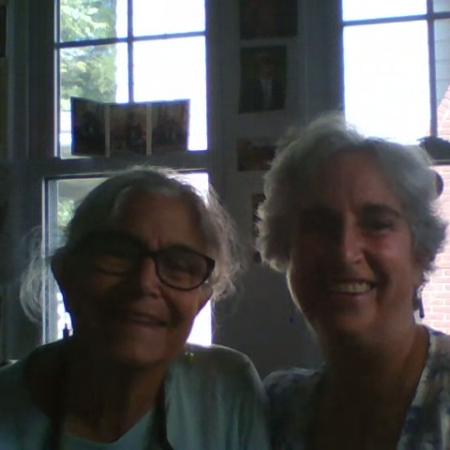Deborah Kornfeld and Ruth Rappaport-Kristal