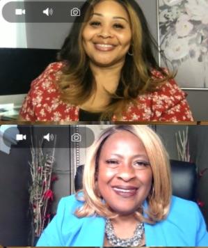 Cynthia Anderson and Barbara Jackson