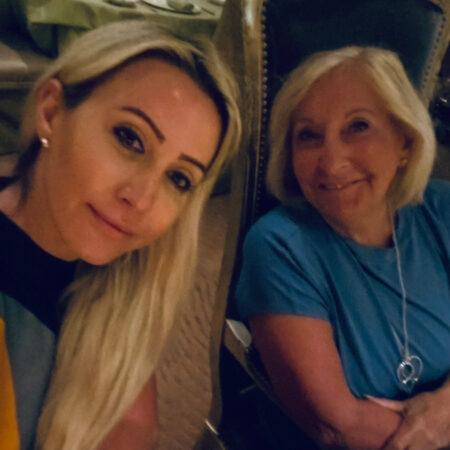 Joan and Nicole
