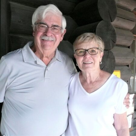 Pat and Ron Hardin found a place at Priest Lake by winning a weekend getaway.