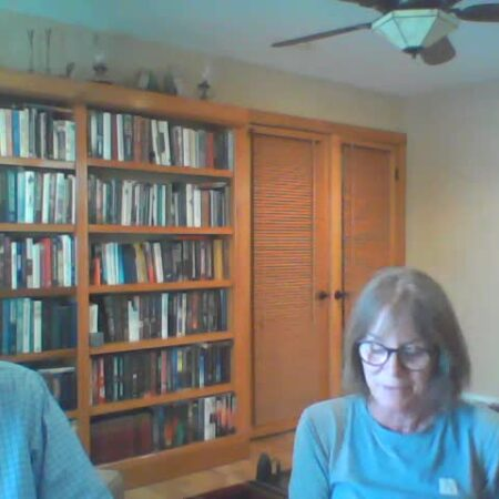 """Krista Nordberg & her uncle Stephen Garrard talk about Crystal Lake, Michigan, and life at the """"Cuckoo's Nest"""" cottage."""