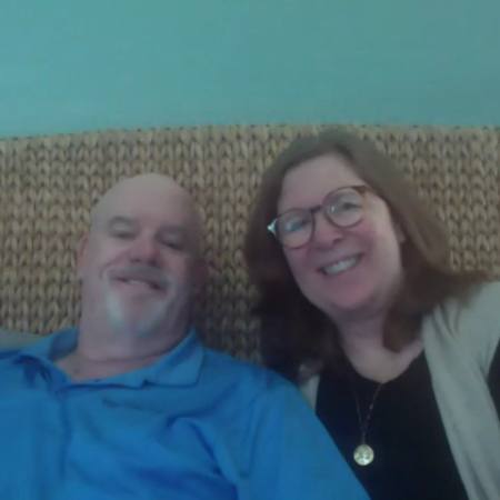 Kristin Erickson and Ken Green