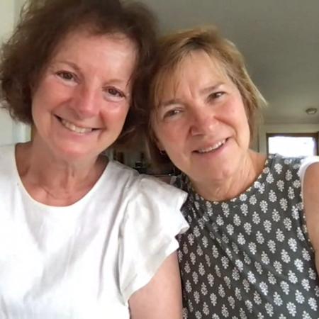 Cathy Seibyl and Susan Wharfe