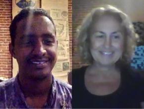 Omar Mohamed and Valentina Ross