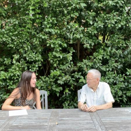 Molly Kirschenbaum and Robert Liu