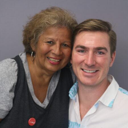 Patricia Rosado and Nathan Pinsley