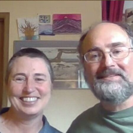 Amy Mcghee and Pierre LaBarge