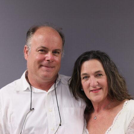Elise Rocks and Eric Korman