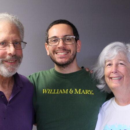 Joanne Levitan, Andrew Warner, and Alan Warner