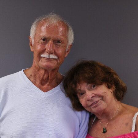 Wilfred Tickner and Anita Rhein-Tickner