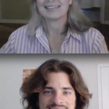 Anthony Woodruff and Natalie Veres