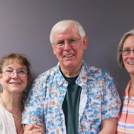 Cleve Callison, Margaret Pridgen, and Jean Callison