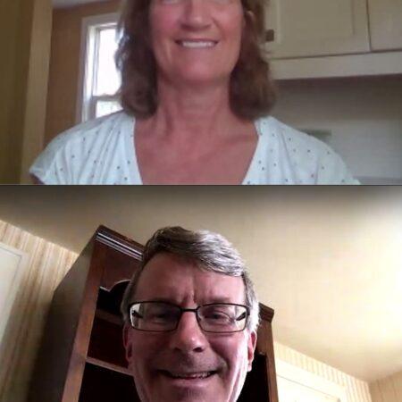 Jill Caldwell and Vic Woodring