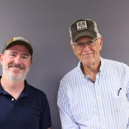 Clyde Edgerton and Wiley Cash