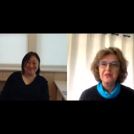 Joy Bartholomew and Susan Park: One CERF Executive Director to another