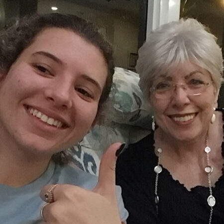 Roció and her grandma